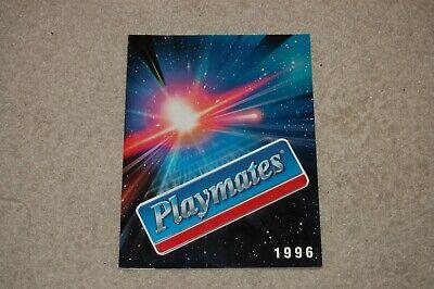 Playmates 1996 Toy Catalog TMNT EXO Squad StarTrek, WildCATS Skeleton Warriors