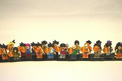 32 Dragon Ball Z Anime Lego brick mini figures Collectables Bundle GOKU Gift