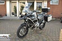 BMW R 1200 GS TÜ Adven. Triple Black, Navi-5,Koffers