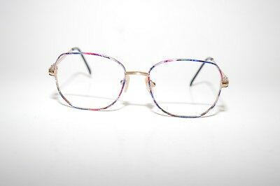 Charmant 7602 Titanium Eyeglasses 53[]17-130MM Nickel Free Alergy MultiColored