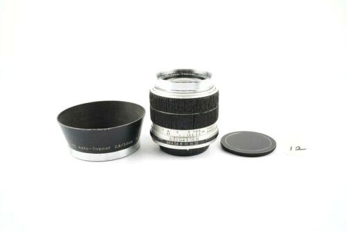 Topcon RE Auto-Topcor 35mm F/2.8 Lens w/ Hood