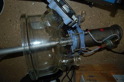 Pilot-tec Duran Glass Pilot Reactor Cover Lid Top Large 7-neck Paddle Flange M