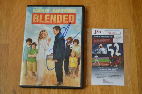 """Adam Sandler Autographed """" Blended """" DVD with James Spence COA"""