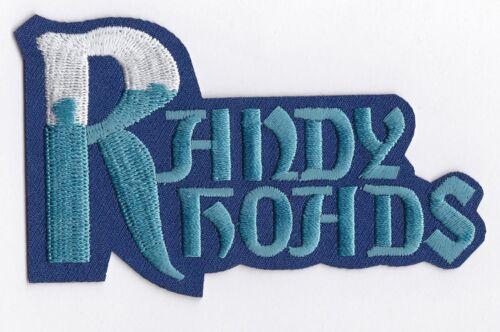 RANDY RHOADS - IRON or SEW-ON PATCH