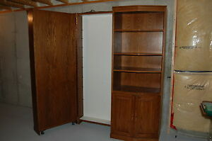 """60"""" wide 2pc wall unit, w/ hidden compartment Windsor Region Ontario image 3"""
