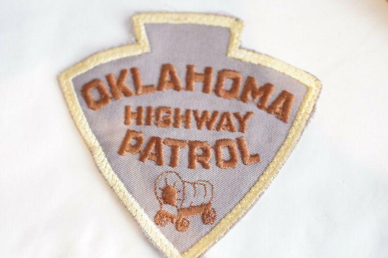 US Highway Patrol Oklahoma Police Patch 1