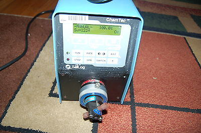 Scilog Fluid Metering Pump Chemtec Head Fmi H405 Liquid