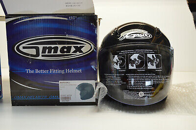 GMAX GM17SPC Black XL Open Face Helmet 231-7027