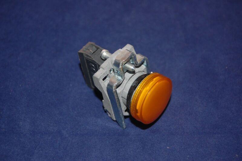 1pc 22MM XB4 YELLOW Pilot light LED FITS XB4 BVG5 110V AC