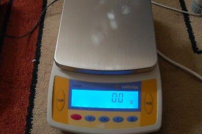 Sartorius Cp2201 Analytical Lab Scale Digital Balance Delta Range 100 Mg Zsed