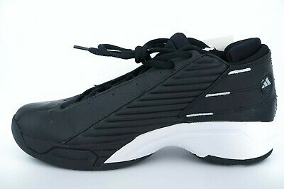 8973dba3d05e6 Adidas Represent Men Black Basketball Shoes - Retro Vintage Deadstock -Size  7 US