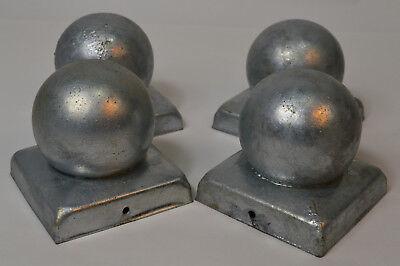 Pfostenabdeckung Runde Ø 60mm  Art.-Nr KO.060 Pfostenkappe aus Stahl