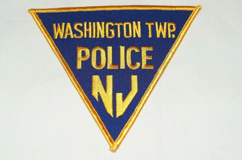 US Washington Township New Jersey Police Patch