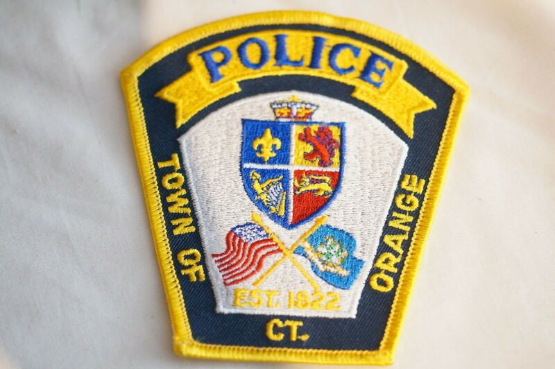 US Town of Orange Connecticut Police Patch