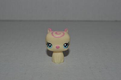 Littlest Pet Shop~#3007~Baby Pig~Cream~Pink Swirl~Blue Eyes~Sweetest Collection