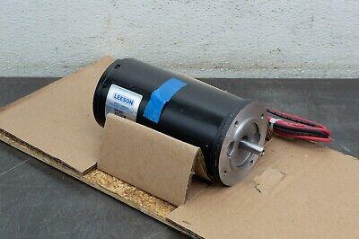 Leeson Electric Motor 970.621 16 Hp 3000 Rpm 24 Volt Vdc Dc 56d Frame