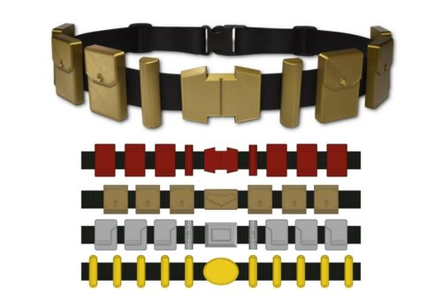 Custom Superhero Utility Belt- Choose your style, color, and size