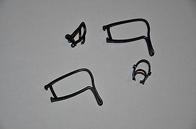 2 x Zaumzeug / Halfter schwarz für Pferde der neuen Version