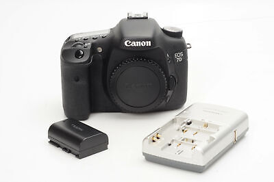 Canon EOS 7D 18MP Digital SLR Camera Body                                   #919