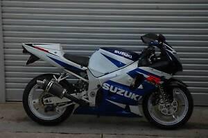 2000/01 Suzuki GSXR600 with 6 month warranty, pipe, great value Lobethal Adelaide Hills Preview