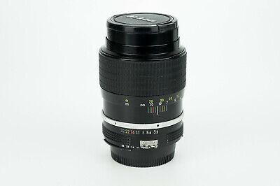Nikon Nikkor K 135mm 1:3.5 Kit Ai obiettivo tele lens portrait Nikon Ai mount