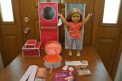 Leg Warmers Case - American Girl Doll Isabelle 2014 GOTY+Book, Dance Case, Leg Warmers NEW-REDUCED