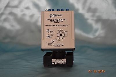 New Prosense Pmru-1c-480a Phase Monitor Relay 208-480vac