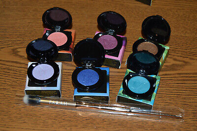 6 Nomad in 6 Different Colors and F.A.R.A.H  Eye Brush *Best  Deal* (Best Face Highlighter Makeup)