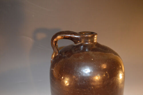 OLD VINTAGE ANTIQUE WHISKEY JUG 1 GAL CLAY STONEWARE 1900S?