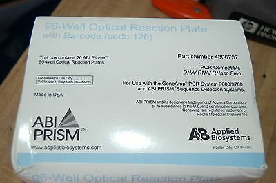 Abi Invitrogen Prism Optical Reaction Plate Plates Pcr 96-well 4306737