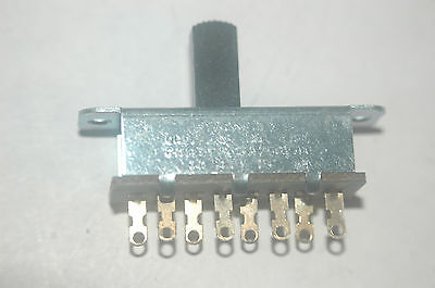 Stackpole 6a 125vac 3a 250vac 4 Position Slide Switch New Lot Quantity-2