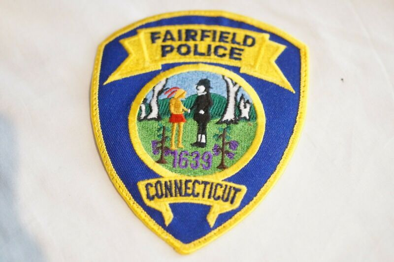 US Fairfield Connecticut Police Patch 2
