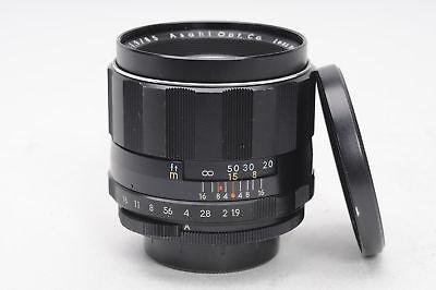 Pentax 85mm f1.9 Super Multi Coated Takumar M42 Lens 85/1.9                 #294