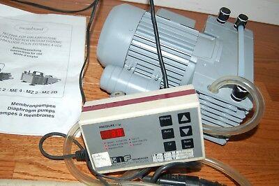 New Vacuubrand Diaphragm Vacuum Pump  Oilless Mz 2se Mz2se 30 Mbar