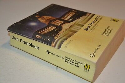 1976 San Francisco Pacific Telephone Directory/ Book / Yellow Pages..Daly City..