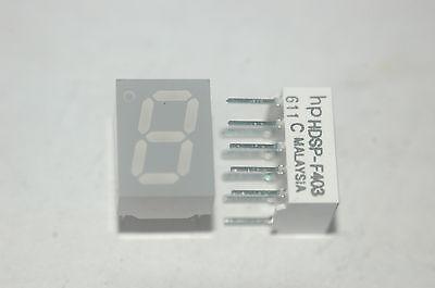 Hewlett Packard Hdsp-f403 Orange 7-segmented Orange Display Lot Quantity-5