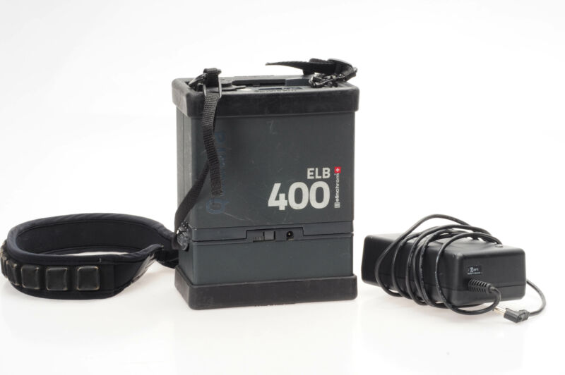 Elinchrom ELB 400 Power Pack With Battery                                   #343