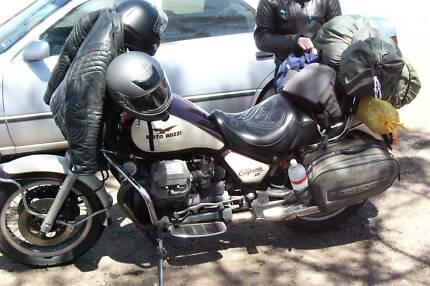 Moto Guzzi California 3 classic tourer 1988
