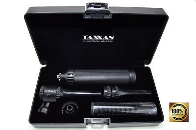 Taxxan Veterinary Black Otoscope Set Use Any Standard Disposable Speculum