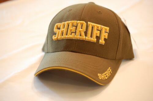 US USA Sheriff Law Enforcement Hat Cap