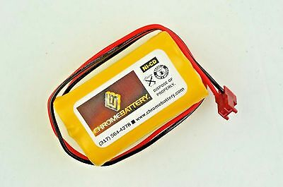 Emergency Exit Lighting Battery 4.8v 800mah For Sure-lites 026-155 Sl026-155