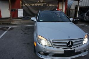 2008 Mercedes-Benz C-Class NAVI | LEATHER | DOUBLE SUNROOF | NO