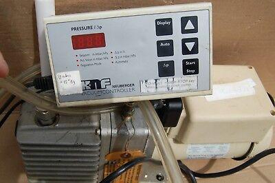 Welch Gem 1.0 Direct-drive Rotary Vane Vacuum Pump 31lpm Oil 14 Hp