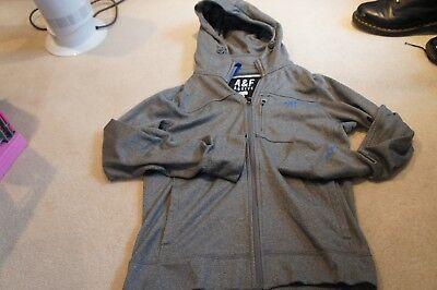 Abercrombie & Fitch Sz S Zip Front hoodie  d'occasion  Expédié en Belgium