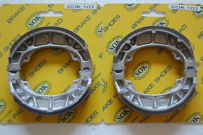 FRONT&REAR BRAKE SHOES fit HONDA CT 70 90 Trail, 1969-1975 CT70, 1966-1975 CT90