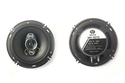 2x Altavoces de coche TS-1672 16cm(6´´) coaxial 3 vías 220W(RMS 40W)