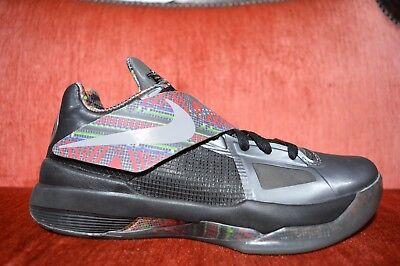 Nike Zoom KEVIN DURANT KD IV 4 BHM BLACK HISTORY MONTH GREY RED 530960-001 8.5 segunda mano  Embacar hacia Argentina
