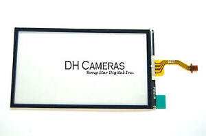 ... -Touch-Digitizer-Panel-For-Sony-Cyber-Shot-DSC-T200-T300-Repair-Part