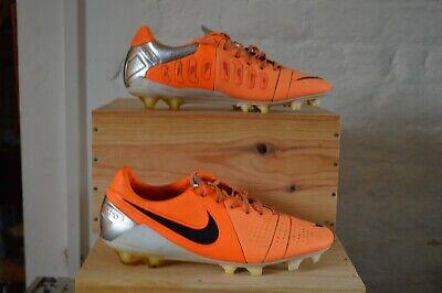 Nike CTR360 Maestri Football Boots Size 9.5 FG Orange ACC