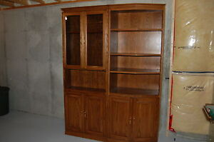 """60"""" wide 2pc wall unit, w/ hidden compartment Windsor Region Ontario image 5"""